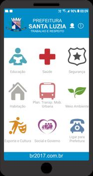 Prefeitura de Santa Luzia - MG (TESTES) poster