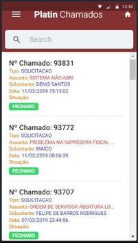 Platin Chamados screenshot 1