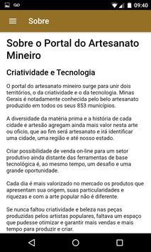 Portal do Artesanato Mineiro screenshot 4