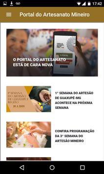 Portal do Artesanato Mineiro screenshot 1