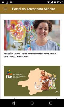 Portal do Artesanato Mineiro screenshot 2