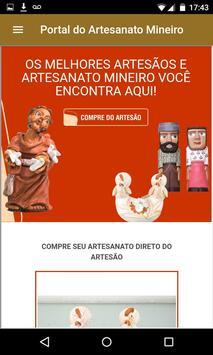 Portal do Artesanato Mineiro screenshot 3