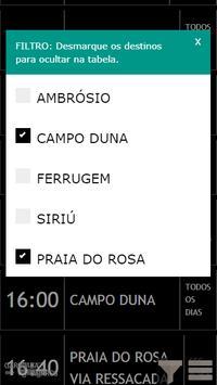 GaropabaGO 2019 - Horários de ônibus em Garopaba screenshot 2