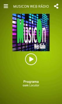 MusicOn Web Rádio screenshot 2