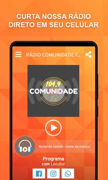 Rádio Comunidade FM 104,9 Pedralva-MG poster
