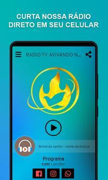 RADIO TV AVIVANDO NACOES poster