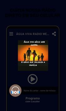 Água viva radio web gospel Bento Gonçalves 海报