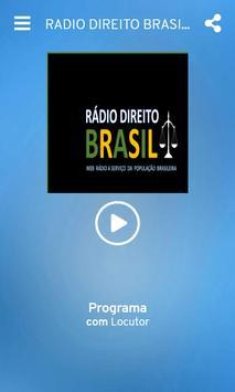 RADIO DIREITO BRASIL screenshot 1