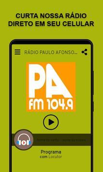 Rádio Paulo Afonso FM poster
