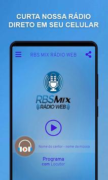 RBS MIX RÁDIO WEB poster