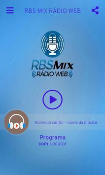 RBS MIX RÁDIO WEB screenshot 1