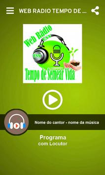Web Radio Tempo de Semear Vida screenshot 1