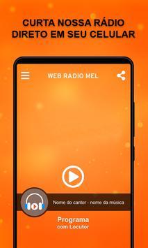 Web Rádio Mel poster