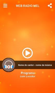Web Rádio Mel screenshot 1