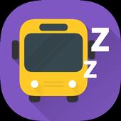 Don't miss the stop (Location Alarm / GPS Alarm) icon