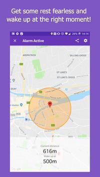 Don't miss the stop (Location Alarm / GPS Alarm) screenshot 1
