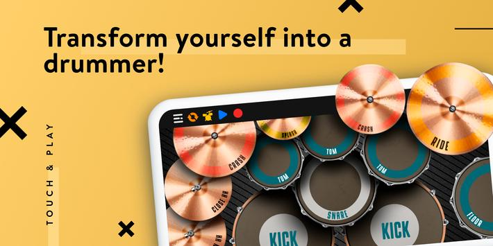 REAL DRUM: Electronic Drum Set screenshot 5
