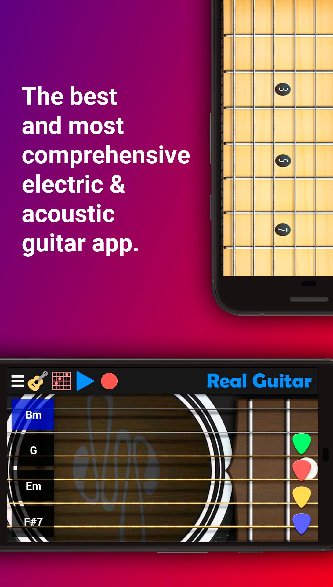 Real Guitar for Android - APK Download