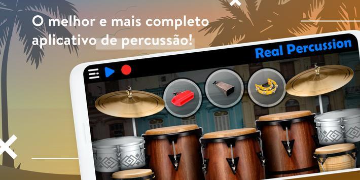 REAL PERCUSSION: Kit de percussão eletrônico Cartaz