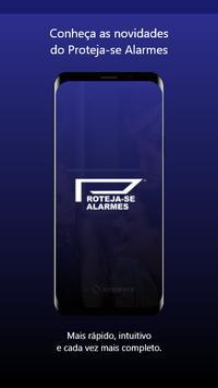 Proteja-se Alarmes poster