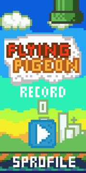 Flying Pigeon poster