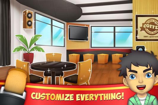 My Coffee Shop captura de pantalla 1