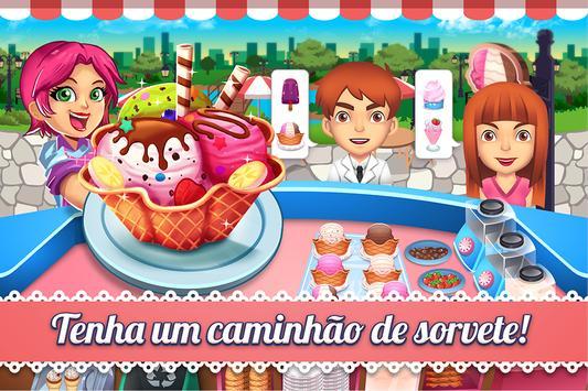 My Ice Cream Shop - Jogo da Loja de Sorvete Cartaz