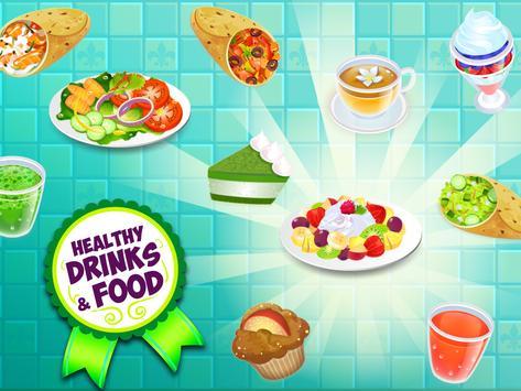 My Salad Bar - Healthy Food Shop Manager syot layar 7