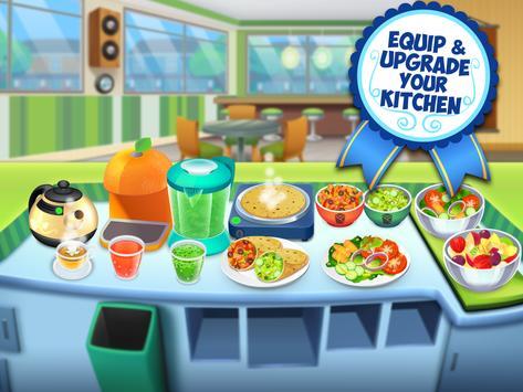 My Salad Bar - Healthy Food Shop Manager syot layar 8