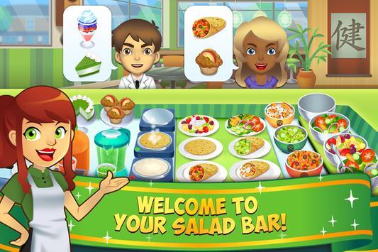 My Salad Bar - Healthy Food Shop Manager poster