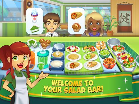 My Salad Bar - Healthy Food Shop Manager syot layar 10