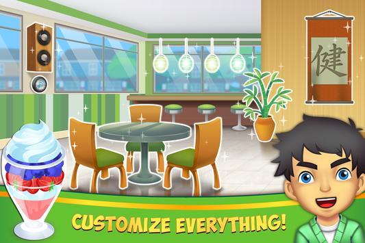 My Salad Bar - Healthy Food Shop Manager screenshot 1