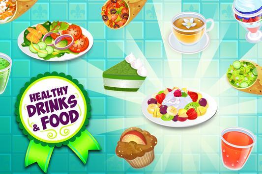 My Salad Bar - Healthy Food Shop Manager syot layar 2