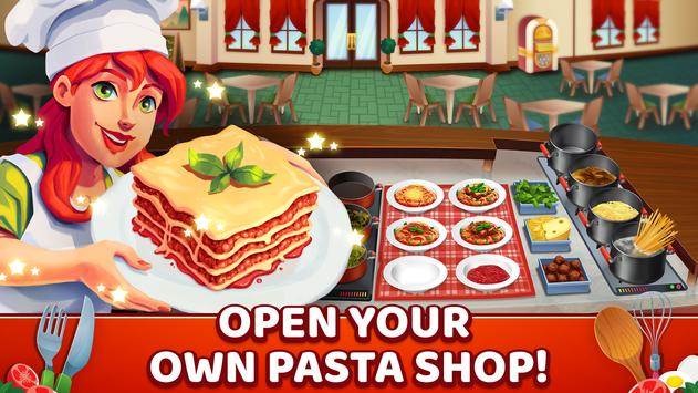 My Pasta Shop - Italian Restaurant Cooking Game poster