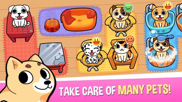 My Virtual Pet Shop - Cute Animal Care Game الملصق