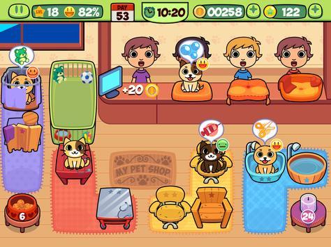 My Virtual Pet Shop - Cute Animal Care Game تصوير الشاشة 14