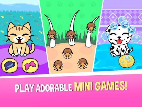 My Virtual Pet Shop - Cute Animal Care Game تصوير الشاشة 12