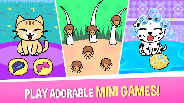 My Virtual Pet Shop - Cute Animal Care Game تصوير الشاشة 2