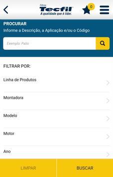 Catálogo Filtros Tecfil screenshot 1