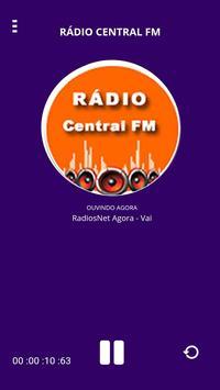 Rádio Central FM poster