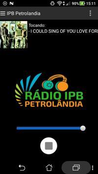 Rádio IPB Petro poster