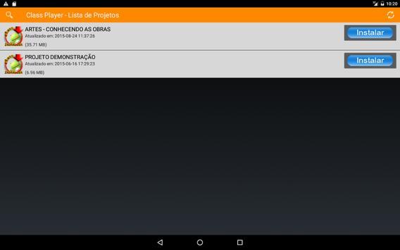 Class Player screenshot 1