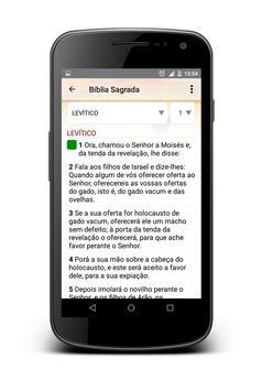 Bíblia Sagrada स्क्रीनशॉट 1