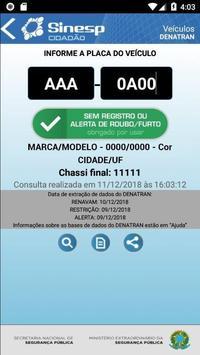 Sinesp Cidadão screenshot 3