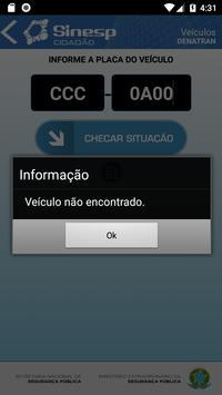 Sinesp Cidadão screenshot 6