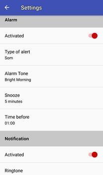 Easy work scheduling screenshot 5