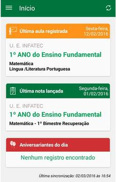 Diário do Professor screenshot 1