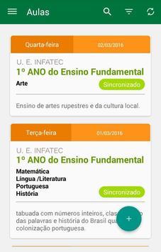 Diário do Professor screenshot 2