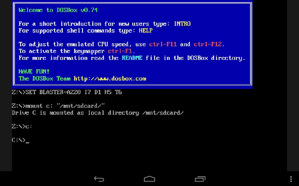 Magic Dosbox Free for Android - APK Download