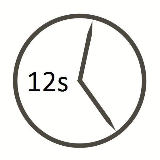 Uhrzeit mit Sekundenanzeige for Android APK Download